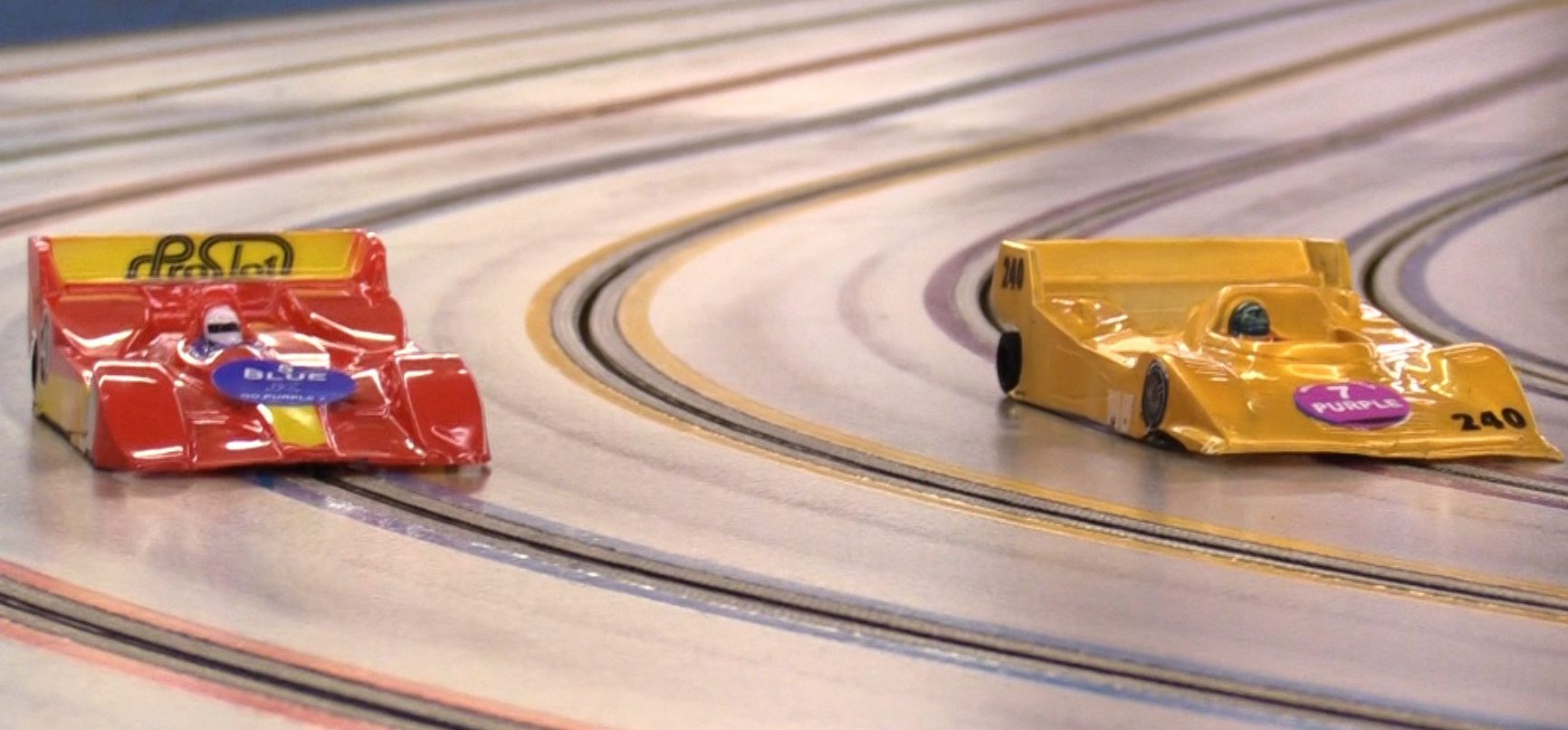 Race Hub helps with refining reflexes and fine motor skills